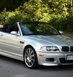sold 2005 bmw m3 cabriolet 6 sp manual local car two owners no accidents only 128k kms everything works the body is straight and original  [ 1200 x 800 Pixel ]
