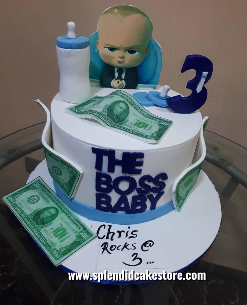 The Boss Baby Splendid Cake Store