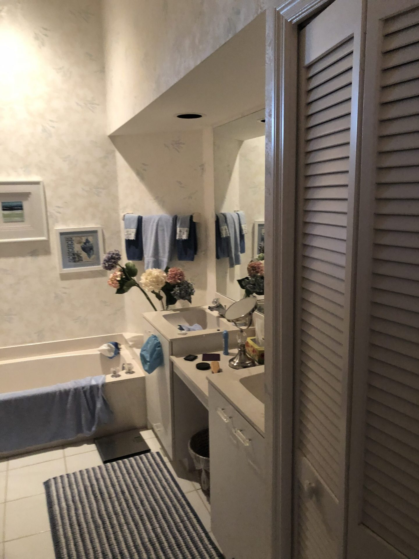 Seagrass Drive | Master Bathroom | Before