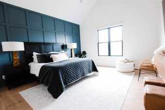 Indiana Mid Century   Master Bedroom