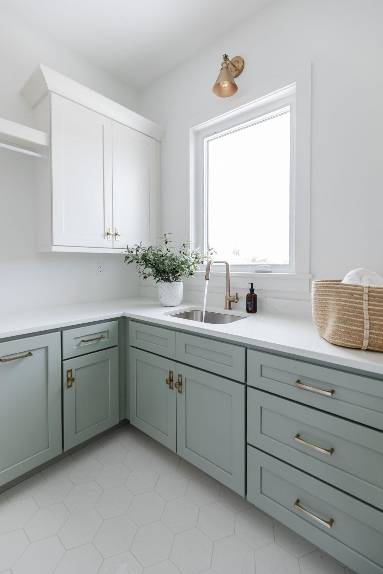 Peet's Perch | Laundry Room Sink