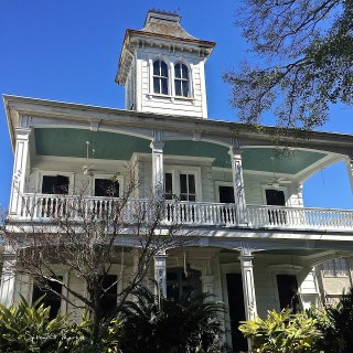 """Haint Blue"" ceilings, New Orleans porches…."