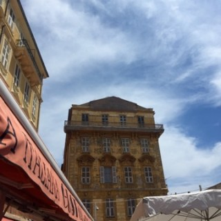 if it's Monday there will be antiques, The Cours Saleya, Nice, France…