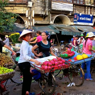 The Night Market, Old Quarter, Hanoi…