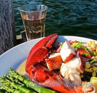 The best tastes of summer salad….