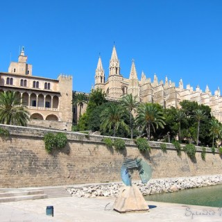 of the sea, light and space, La Seu, Palma, Mallorca…