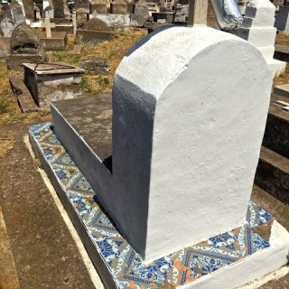 Blue and white tiles through the ages, Isle de Stromboli, Italy…