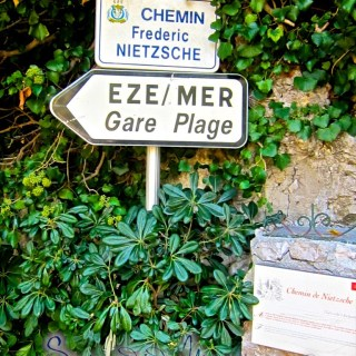 Chemin de Nietzsche, Eze bord de Mer…