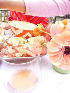 shades of Rosé, shades of Coral