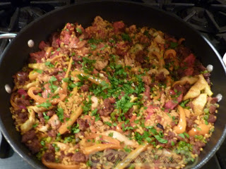 Week night Paella