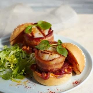 Scallop~bacon slider wins first So Very Splendid award…