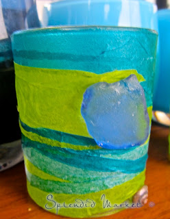 Seaweed votives, a tale of craftiness on the high seas…..