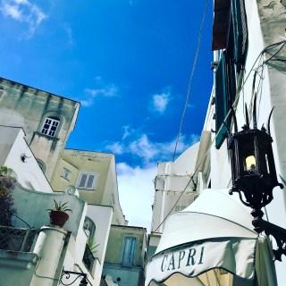 Trekking to Villa Jovis, Capri…