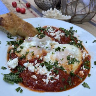 Shakshuka, a splendid soup for breakfast…