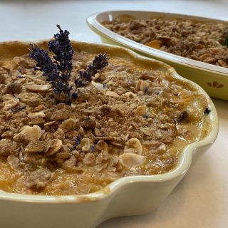 Easy Peach Crisp recipe….