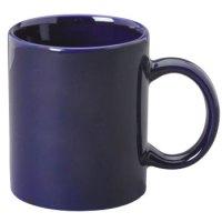 11 oz c-handle coffee mug - cobalt blue [10306 ...