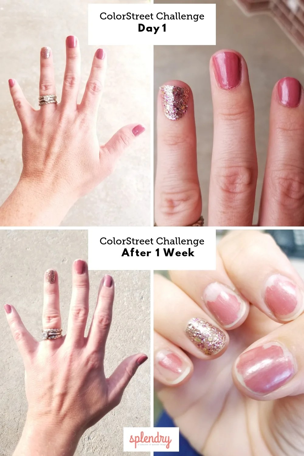Color Street Ruined My Nails : color, street, ruined, nails, Color, Street, Challenge, Splendry