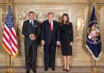 Po Cerarju letos Pahor pri Trumpu