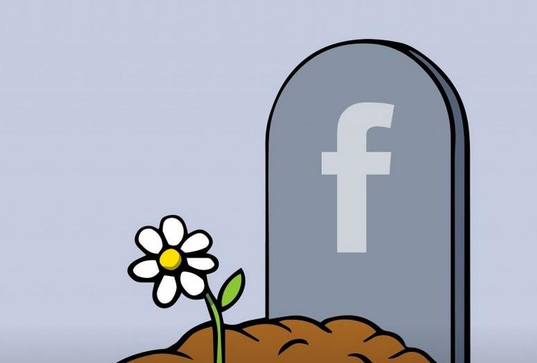 facebook na je dood