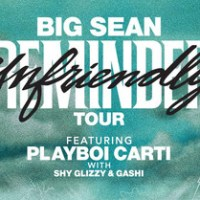 "Big Sean To Headline North American ""Unfriendly Reminder Tour"""