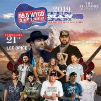 99.5 WYCD's Ten Man Jam Invades The Fillmore Detroit
