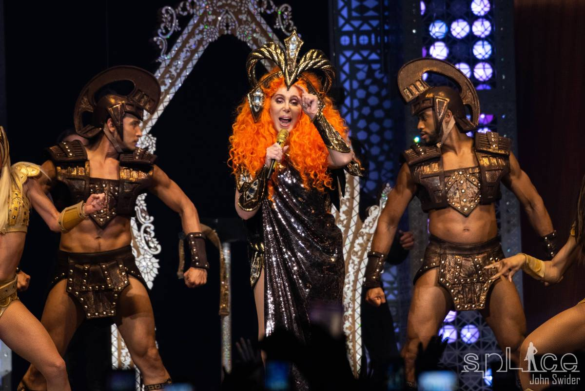 "Cher brings her ""Here We Go Again Tour"" to a Sold-Out Van Andel Arena"