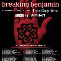 Breaking Benjamin + Three Days Grace + Chevelle + Dorothy + Diamante @ PNC Music Pavilion, Charlotte, NC