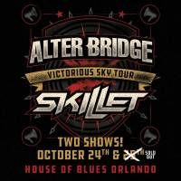 Alter Bridge and Skillet Bring Their Victorious Sky Tour to Orlando with special guest Dirty Honey