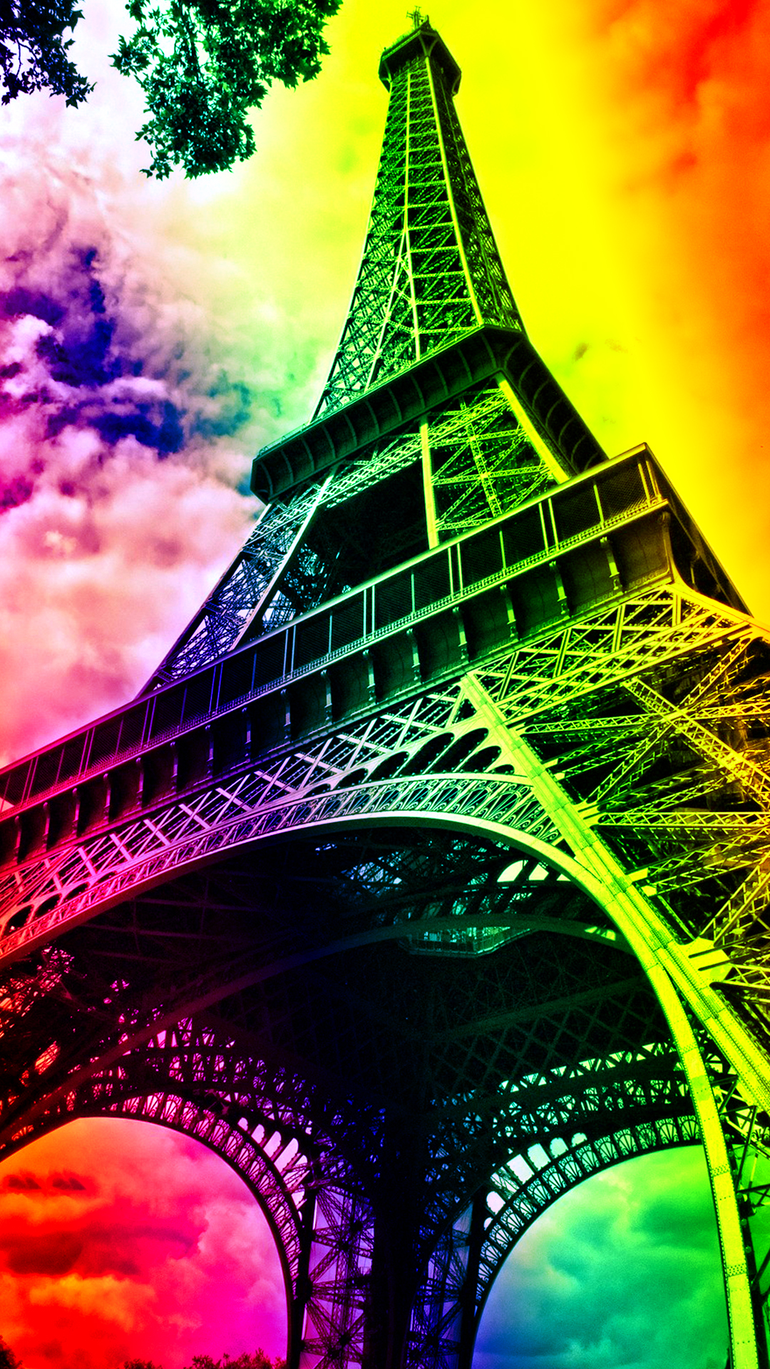 Burberry Iphone Wallpaper Eiffel Tower Hd Wallpaper For Your Mobile Phone
