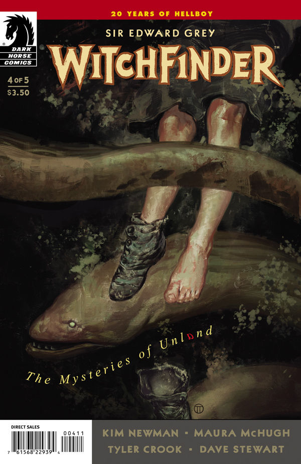 Witchfinder: The Mysteries of Unland 4 cover