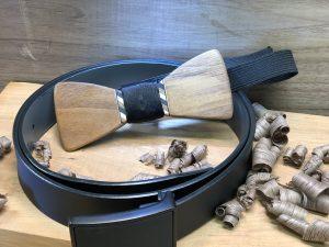 Walnut-hardwood-gentleman-bowtie-tie
