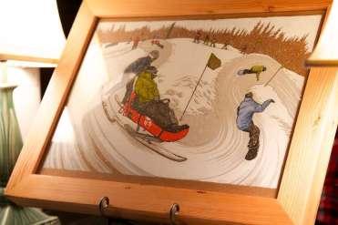 Artist and splitboarder Adam Haynes' work is aways incredible
