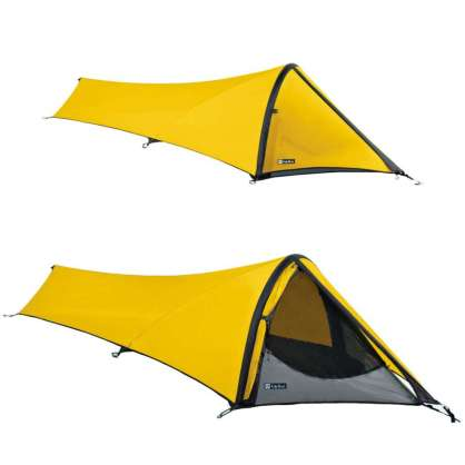 The lightest and smallest packing tent in NEMO's arsenal of shelters.