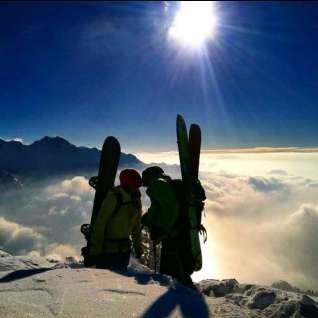 Mountain Top Kisses by Alecs Barton