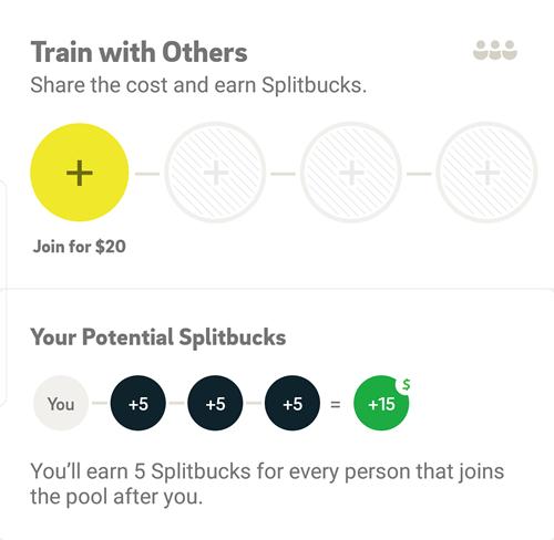 $5 back pool