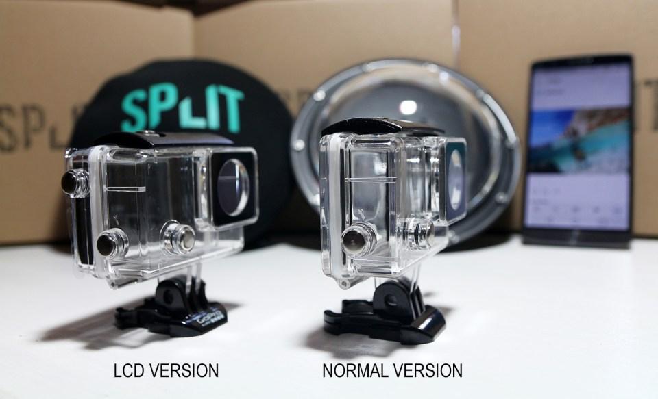 LCD vs. NORMAL gopro dome