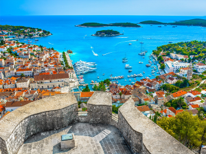 Hvar-from-the-fortress-Split-Sea-Tours-DeLuxe-Blue-cave-Tour-from-Split