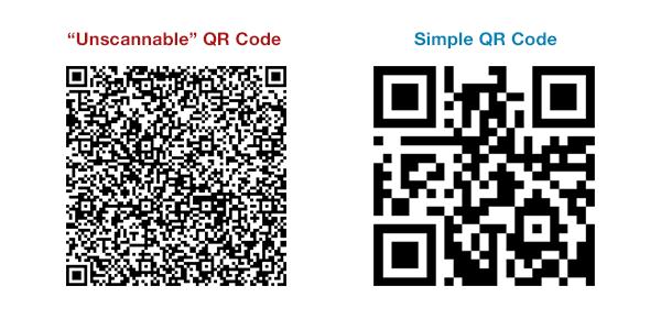 Qr Code Comparison - Make a QR Code, the simple way