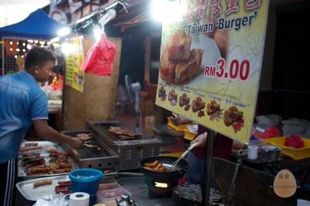 Melaka - Jonker Street Taiwan Burger