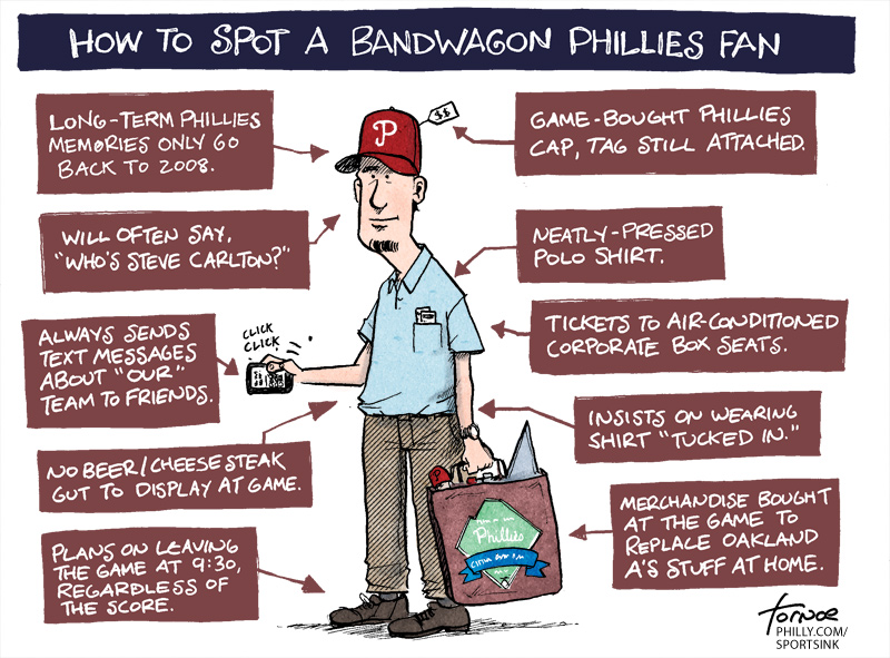 I'm on the Phillies Bandwagon