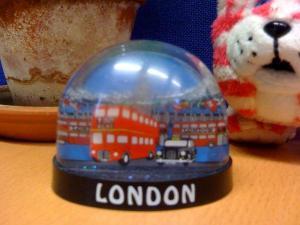 A snow globe