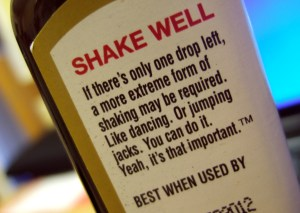 A1 Steak Sauce - love this label
