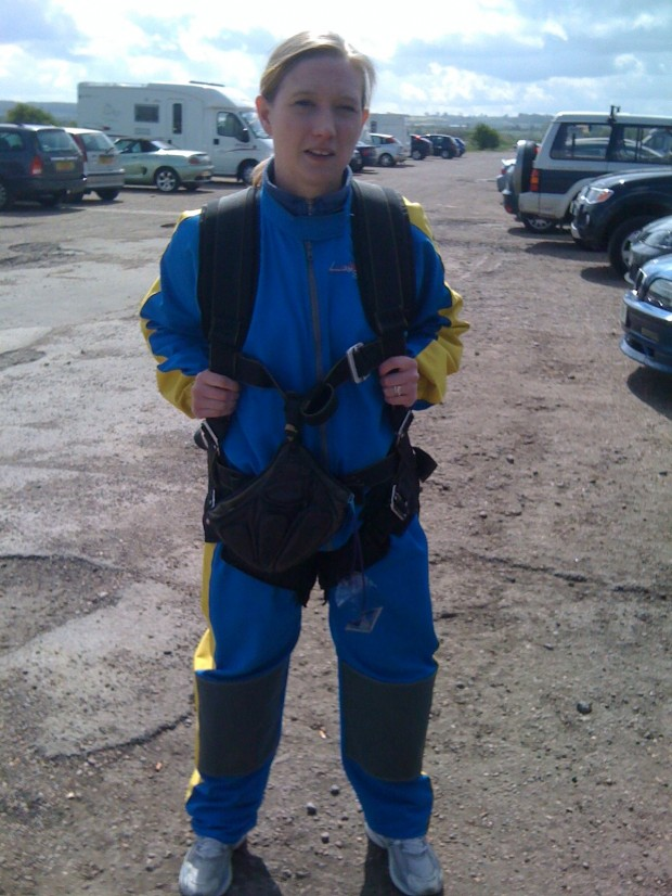 Before my skydive (quick iPhone snap)
