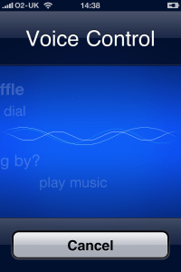 iPhone4 - Voice Control