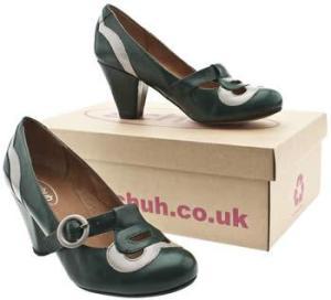 Schuh Obel Panel T-bar Low Heels