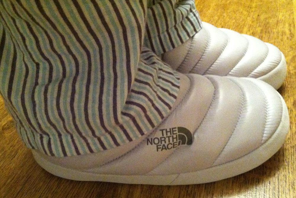 The North Face Slippers – Down for the Feet