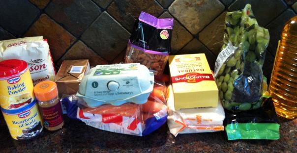 Carrot Cake Ingredients