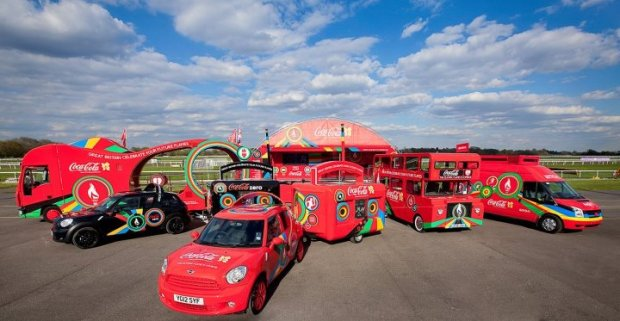 Torch Relay Support Vehicles
