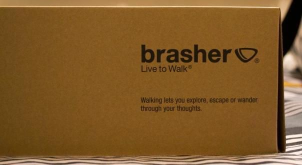 Brasher Shoe Box
