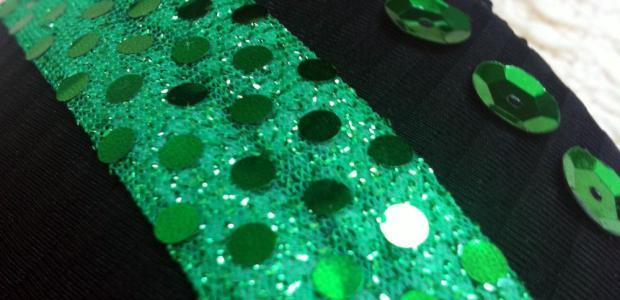 Splodz Moonwalk Bra Green Ribbon